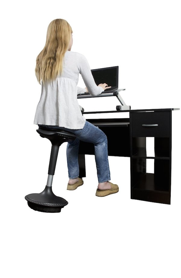 active motion seating stool wobble stool by uncaged ergonomics