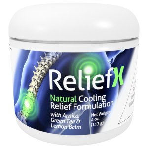 ReliefX By Naturo Sciences ™ Natural Topical Cream For Temporary Pain Relief for Joints and Muscle Discomfort