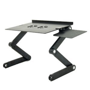 iCraze Adjustable Vented Laptop Table standing desk