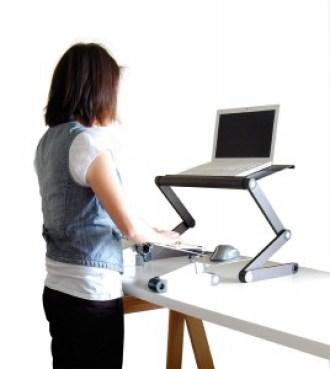 uncaged work ez standing desk converion kit