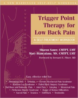 best low back pain books - Trigger Point Therapy for Low Back Pain- A Self-Treatment Workbook