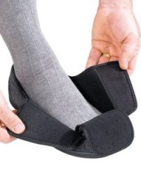 gift ideas for people with diabetes - Mens Extra Extra Wide Slippers - Swollen Feet - Diabetic