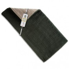 sore muscle pain relief - Sunbeam 2013-912 Xpress Heat Microplush Heating Pad for Quick Pain Relief