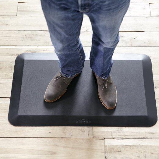 Standing Desk Anti-Fatigue Comfort Floor Mat - VARIDESK Mat 34