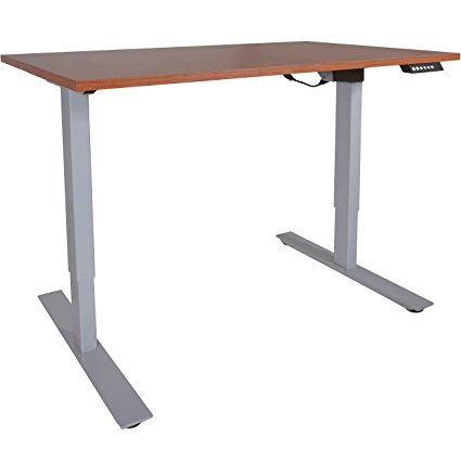 best-height-adjustable-standing-desks-titan-fitness-a2-single-motor-sit-stand-desk-with-wood-top