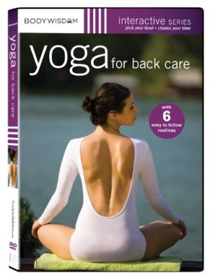 Yoga DVD for back pain - Yoga for Back Care - 6 Routines