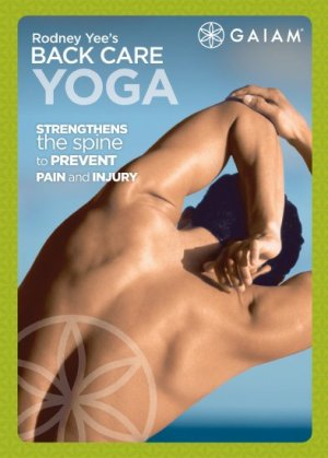 best back yoga DVDs - Backcare Yoga For Beginners by GAIAM