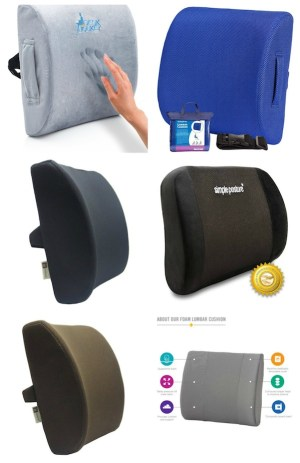Best Lumbar Support Back Cushions To Fix Your Back Problems