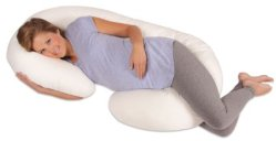 pregnancy gift idea - Leachco Snoogle Total Body Pillow