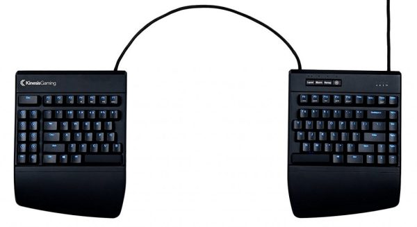 kinesis ergonomic gaming keyboard