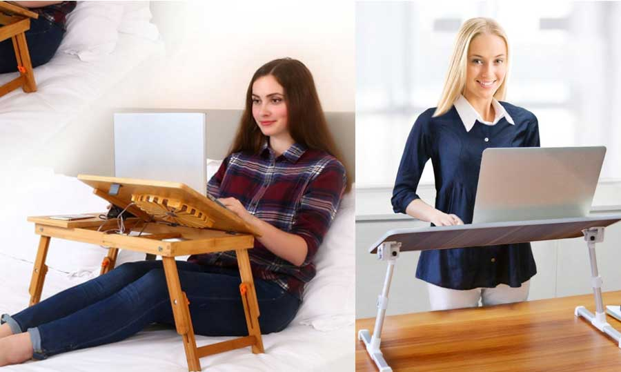 Best Laptop Trays And Tables For Beds 2018 Reviews And