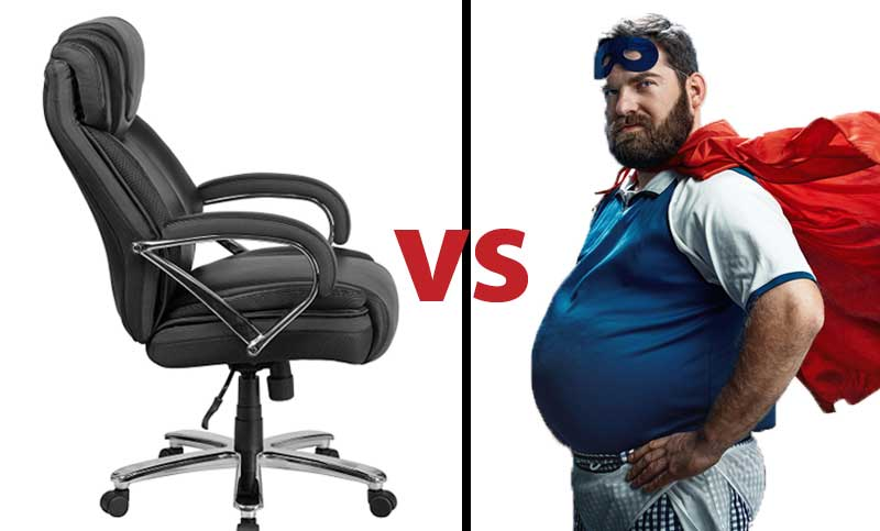 Bon Best Big And Tall Ergonomic Office Chairs For 2019 (MUST Read For Safety)