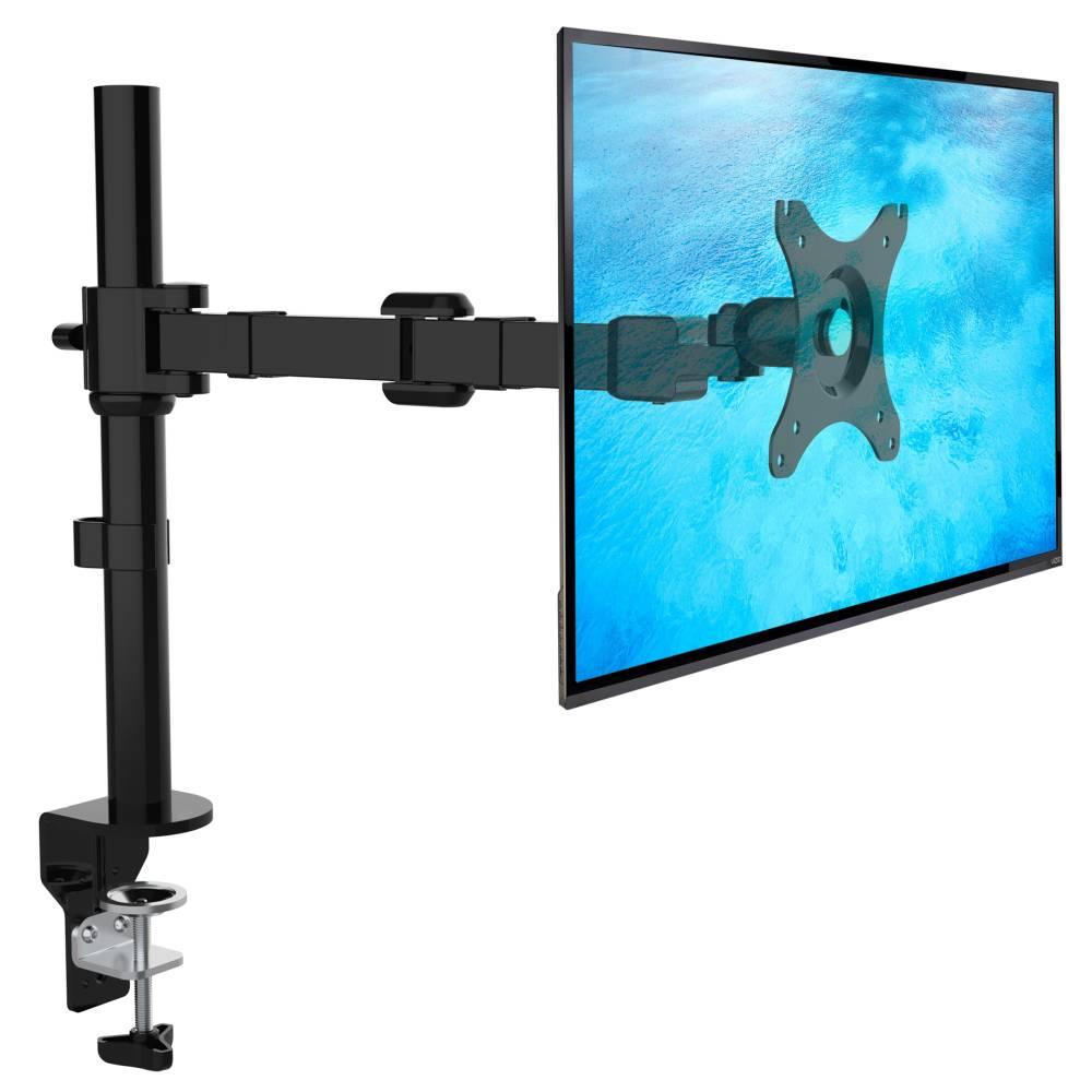 ergosolid nf11 support orientable de bureau pour ecrans pc 10 30 pouces