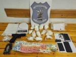 Μεγάλη ποσότητα κοκαΐνης κατάφεραν να εντοπίσουν αστυνομικοί του Τμήματος Ασφάλειας Πολυγύρου στην Κεντρική Μακεδονία