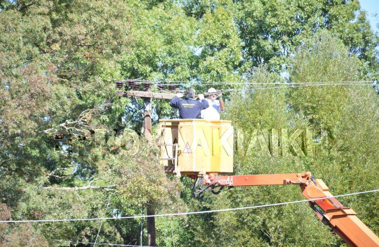 Διακοπή ηλεκτρικού ρεύματος σε περιοχές της Χαλκιδικής.