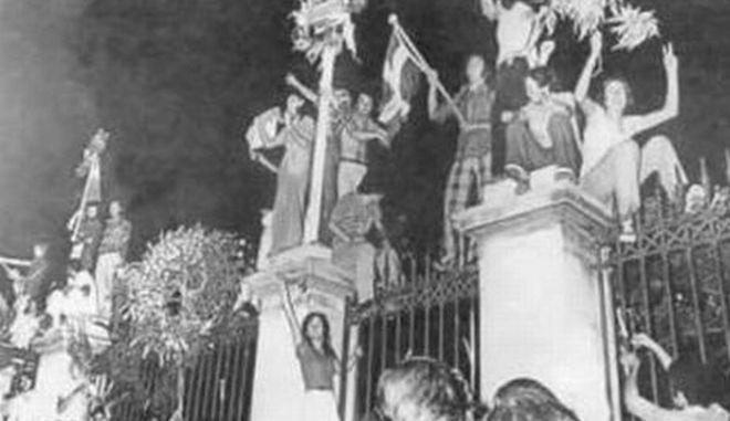 17 Νοέμβρη 1973 : Το χρονικό της εξέγερσης