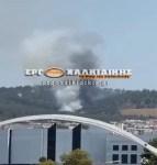 ΤΩΡΑ : Φωτιά στο Σέιχ Σου στη Θεσσαλονίκη (φωτο)