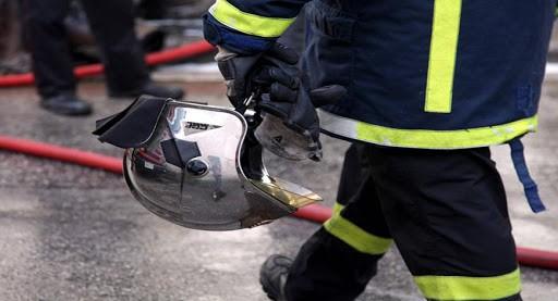 Πυρκαγιά σε αποθήκη στη Χαλκιδική