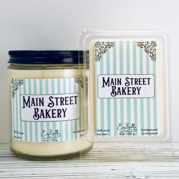 main street bakery Soy Candle Collection
