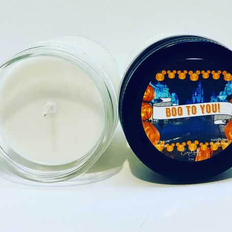 boo to you 4oz candle