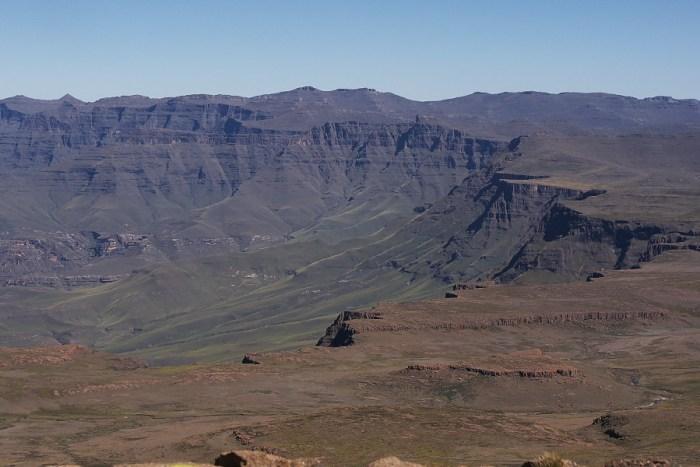 Lesotho's plateau