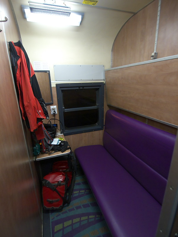 Tourist cabin in South African Train