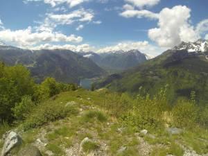 Vue sur le Lac du Verney