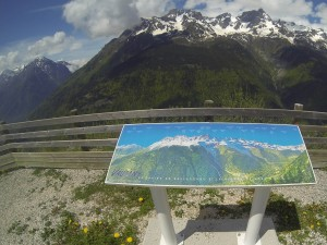 Table d'orientation - col du Collet