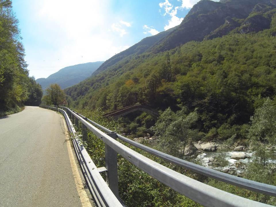 Descente vers l'Italie