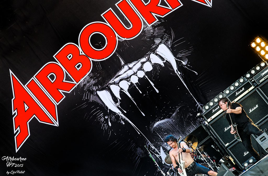 Hellfest 2015 : Airbourne