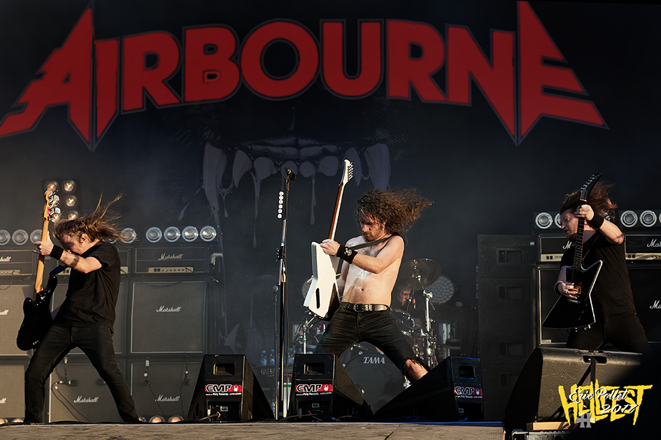 Hellfest 2017 : Airbourne