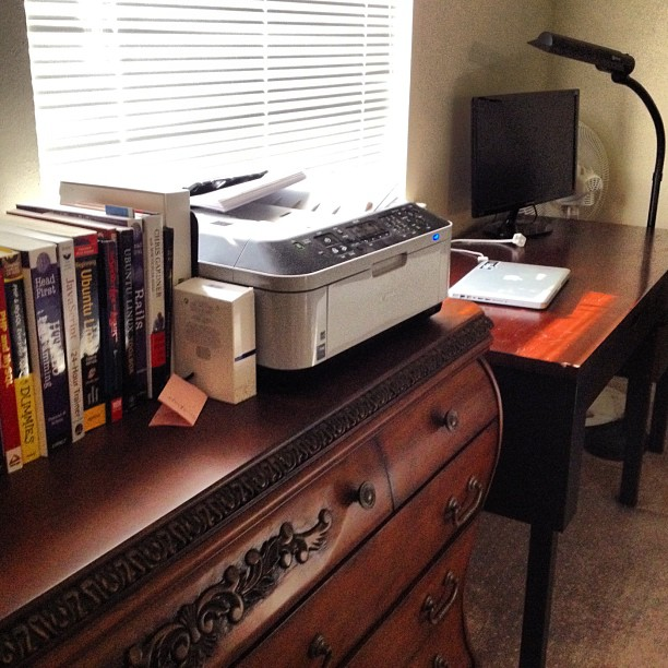 Spent a good part of yesterday organizing my work area