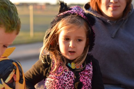 Hailey on Hayride