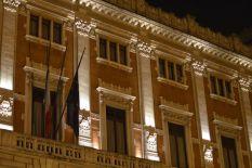 Montecitori Palace at Night