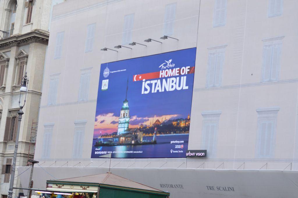 Turkey Poster at Piazza Navona