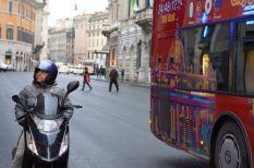 Biker in Rome