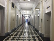 Hallway within Eisenhower Executive Office Building