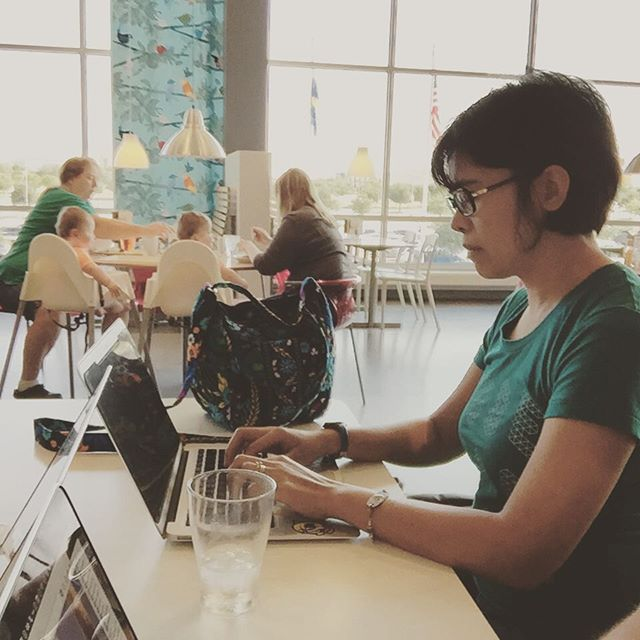 #Automattic is a distributed company. Periodically, we get together to work in close quarters. A few weeks ago, I drove down to Frisco and met up with a couple of DFW based Automatticians to work in Ikea.