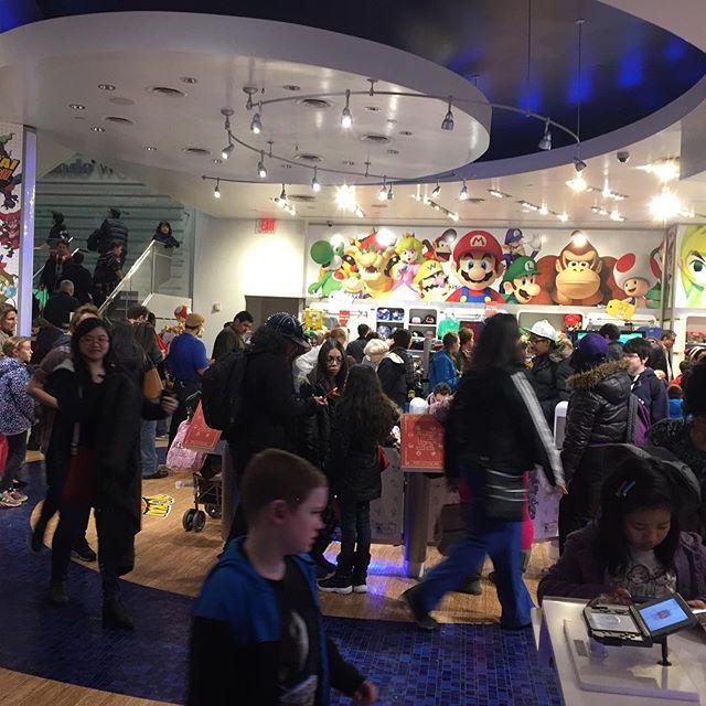 First floor of Nintendo World