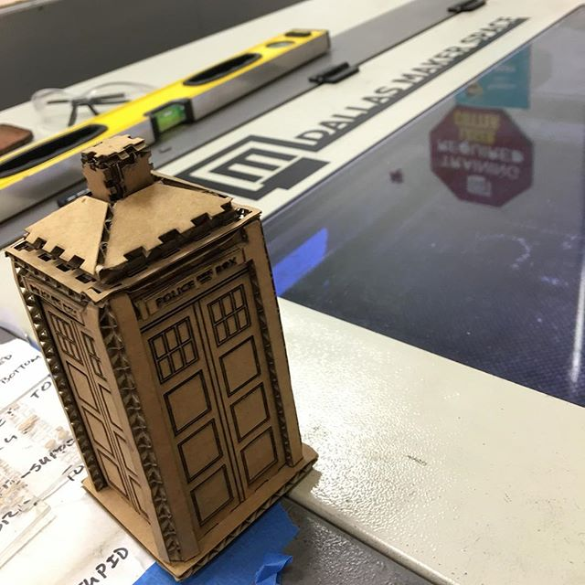 Forgot to post this picture taken at Dallas makerspace