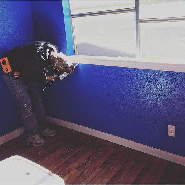 Finishing touches going into Hero's room