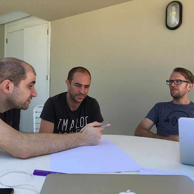Mercury platform brainstorming session.