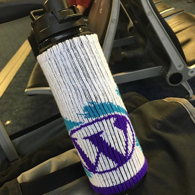 Had to get a close up picture of the #wordpress @freakerusa we had at #phptek. Hopefully these make it to the swag store 😀
