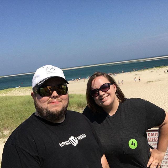 Sara and I at Chatham Beach