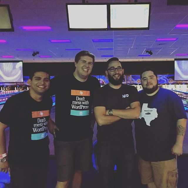 Automattic versus @wpengine in the lanes. They won 😞 #wcdfw