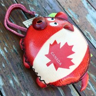 A Canadian coin purse I got for Hero