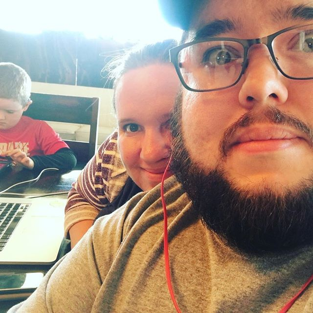 This was from family coworking yesterday.