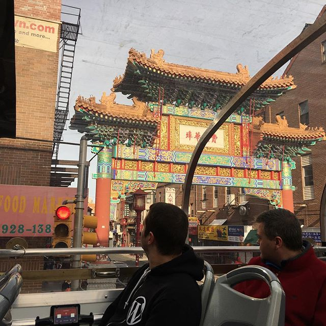 China Town friendship arch #wcus #Jetpack