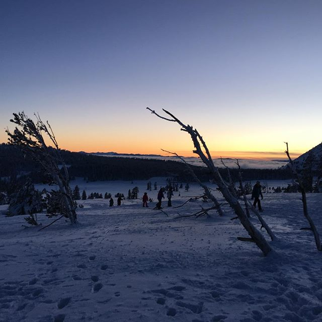 Sunset from Mount Rose