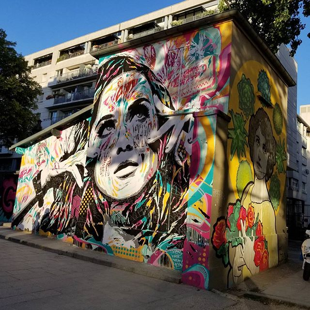 Street art near the hotel